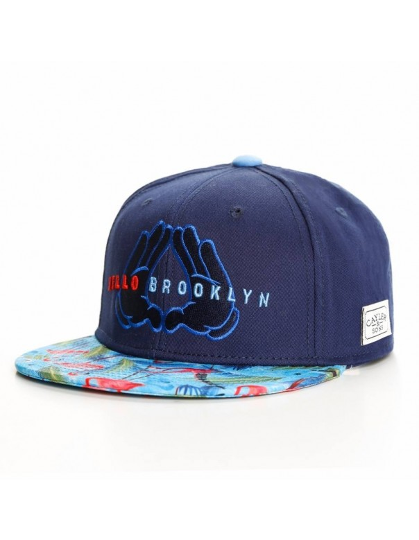 CAYLER AND SONS HELLO BROOKLYN CAP