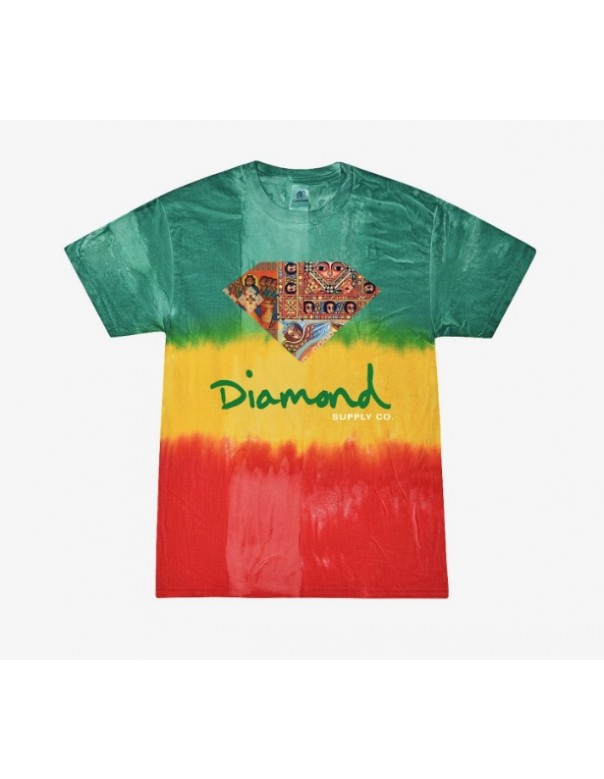 Diamond Ethiopian Diamond Tie Dye Tee