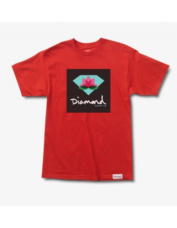 Diamond Supply Lotus Box Sign Tee