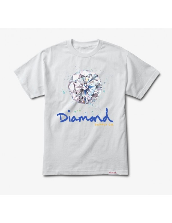 Diamond Supply Splash Sign Tee