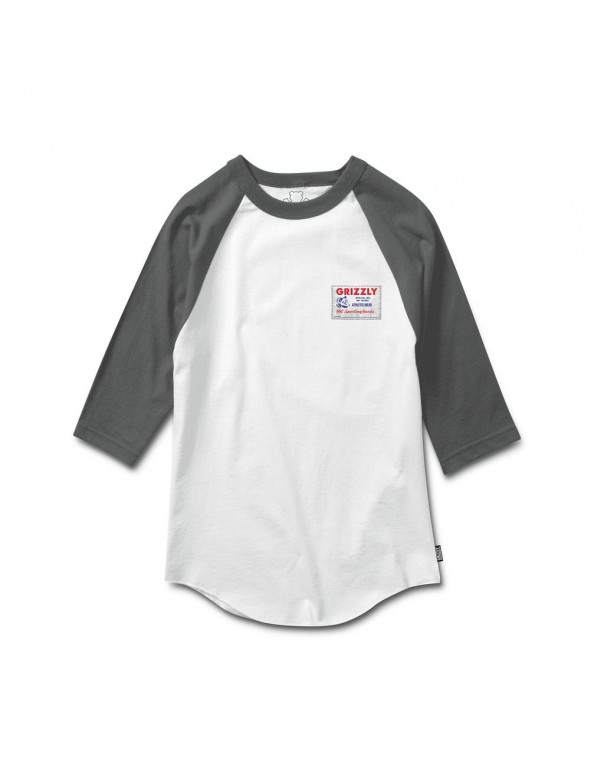 GRIZZLY   Archive 3/4 Raglan TEE