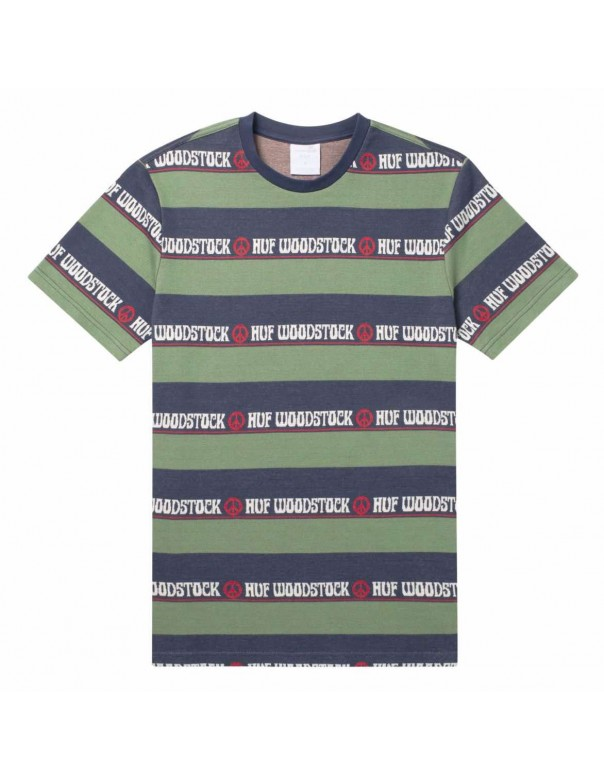 HUF x Woodstock Bethel Knit Top Tee