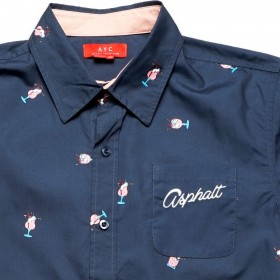 Ashpalt ss Button Up Shirt
