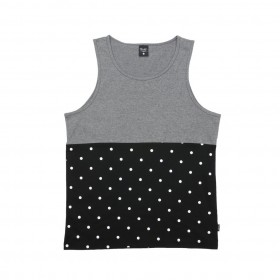PRIMITIVE DOTS GREY TANK